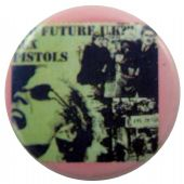 Sex Pistols - 'No Future UK' Button Badge